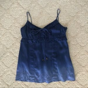 NWT✨Juicy Couture Ombré Dip Dye Silk Cami size 2